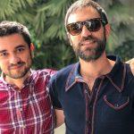 Anto Garzía, Head of Social Media en Atresmedia, con Jon Plazaola, Iñaki en la serie Allí Abajo