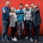 Anto Garzía, Head of Social Media en Atresmedia, con los finalistas de La Voz Antena 3 de 2019
