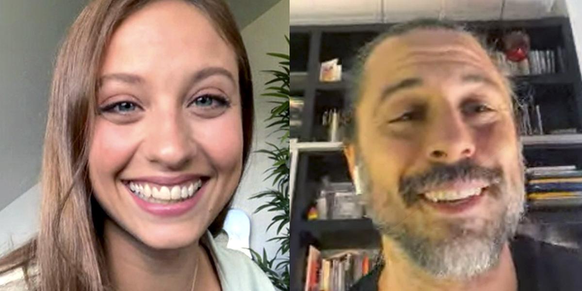La videollamada anunciando el regreso de Lucas y Sara a 'Los hombres de Paco' que arrasó en redes sociales